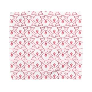 椿(白) Towel handkerchiefs