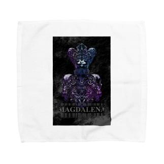 Cerberus - Black Towel handkerchiefs
