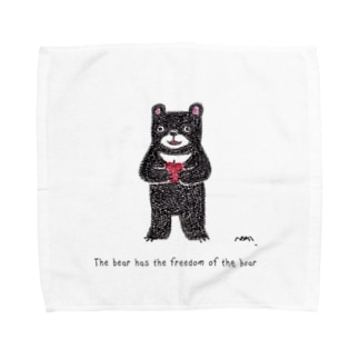 フリーダムくま Towel handkerchiefs