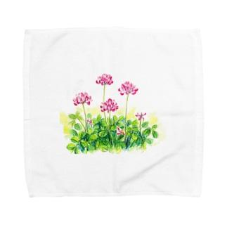 レンゲ草 Towel handkerchiefs