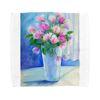 盛り花 Towel handkerchiefs