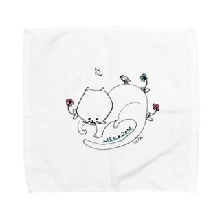 nekodon7 Towel handkerchiefs