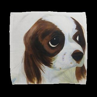 卯汰のキャバリア Towel handkerchiefs