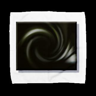 宇宙の贈りものの「音なき世界」 Towel handkerchiefs