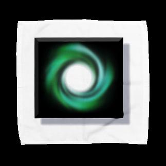 宇宙の贈りものの「時の音色」 タオルハンカチ