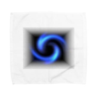 「瞑想エンブレム」 タオルハンカチ