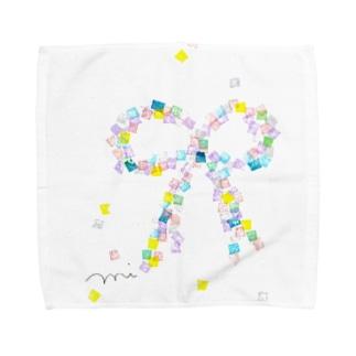 いろむすび Towel handkerchiefs