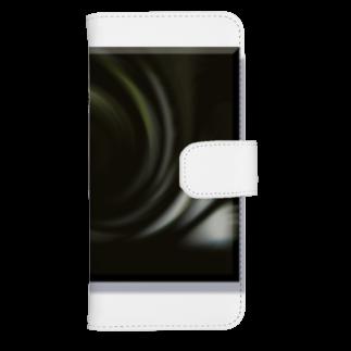 宇宙の贈りものの「音なき世界」 ウォレットフォンケース