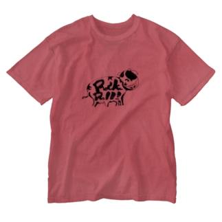 栗原進@夢の空想画家のRock'nRoll-GYU Washed T-shirts