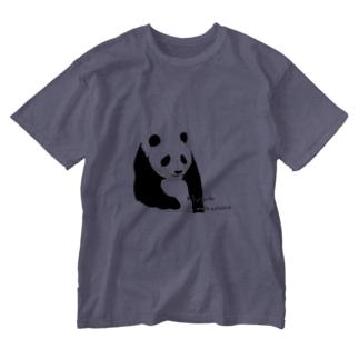 パンダちゃん Washed T-shirts