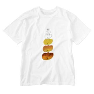 パンが焼けるまで Washed T-shirts