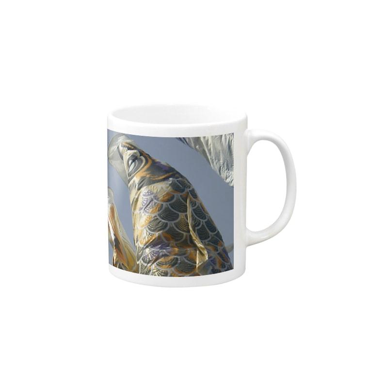 cocheの鯉のぼり Mugs