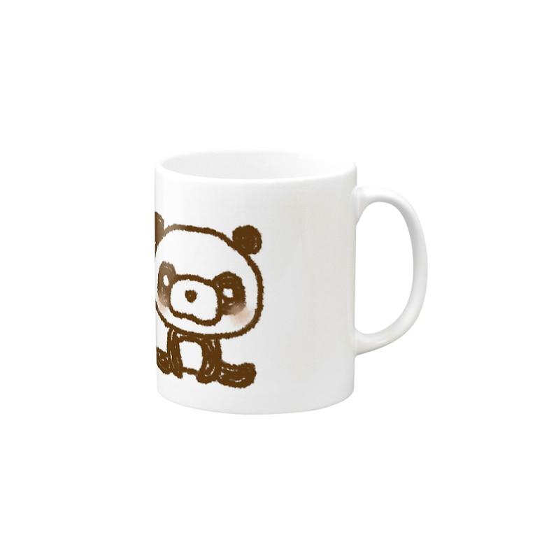 AttentIのほっこりパンダ Mugs