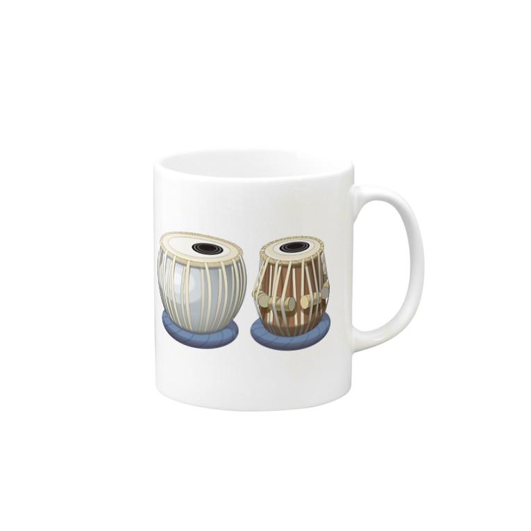 yamame1000ninのタブラ Mugs