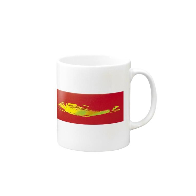 Ujackの金のダシ Mugs