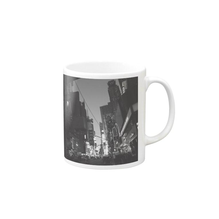 NackybearのNYマンハッタン Mugs