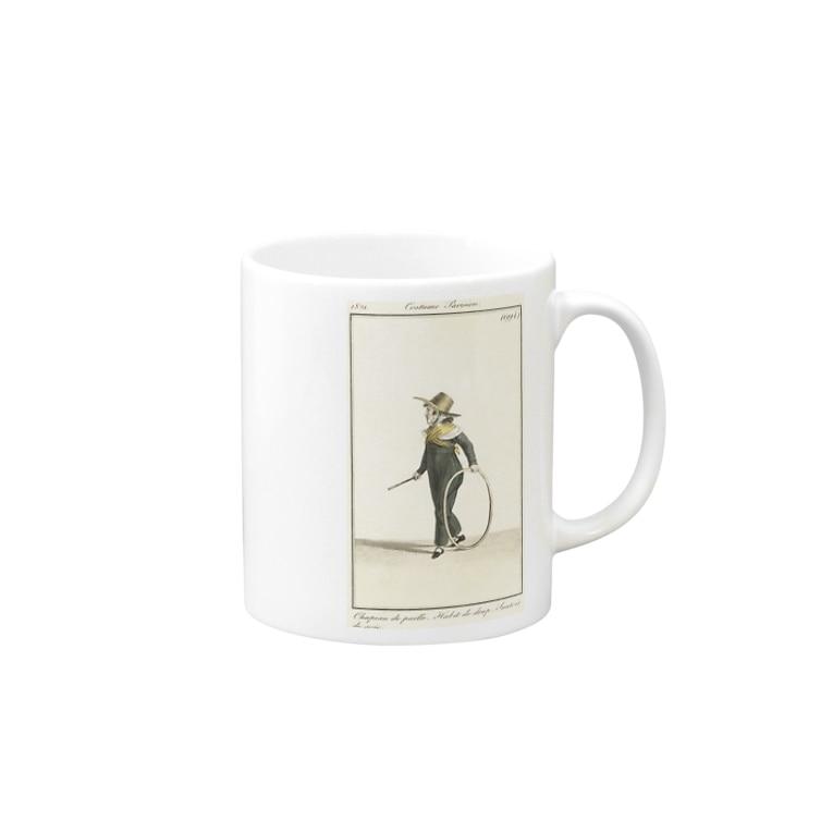 J. Jeffery Print Galleryの大道芸人 Mugs