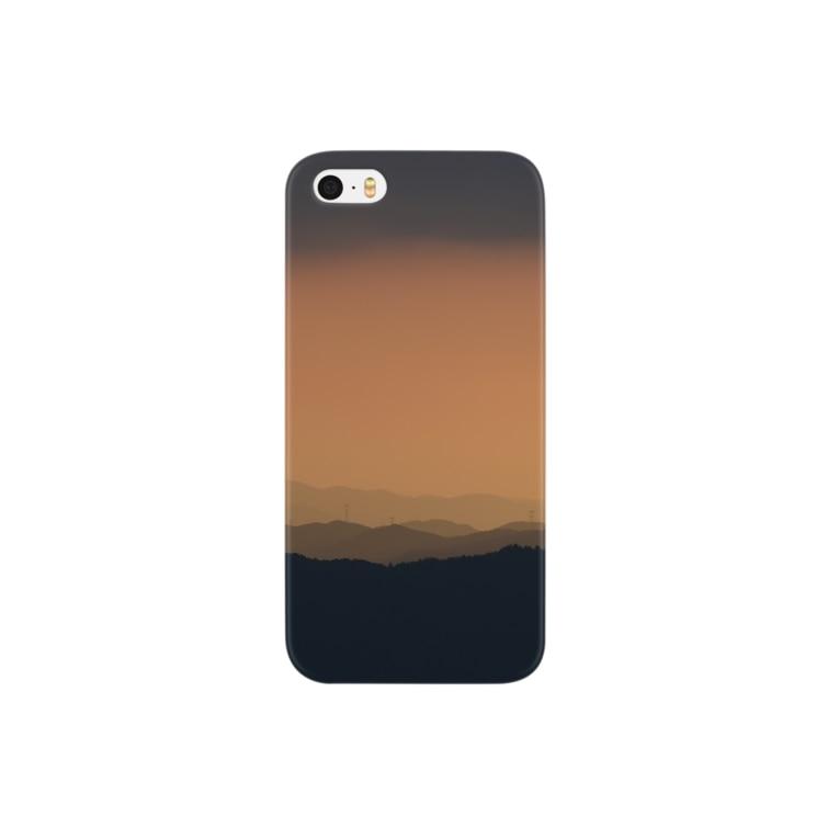 HelloPachiruのグラデーション山脈 Smartphone cases