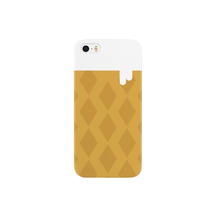 horaotokoの東向島のソフトクリーム Smartphone cases