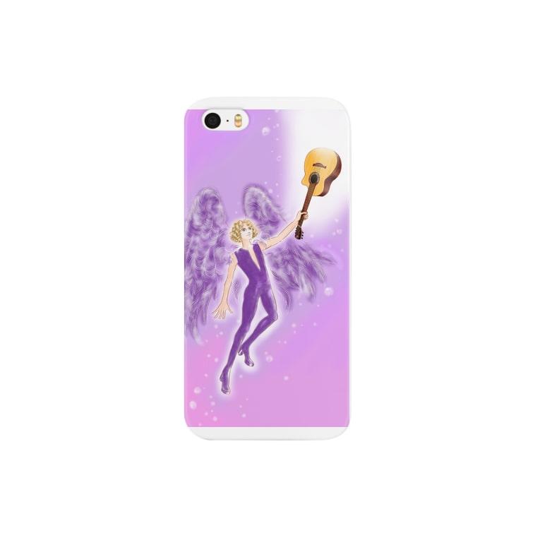 JP Link Australiaのviolet angel Smartphone cases
