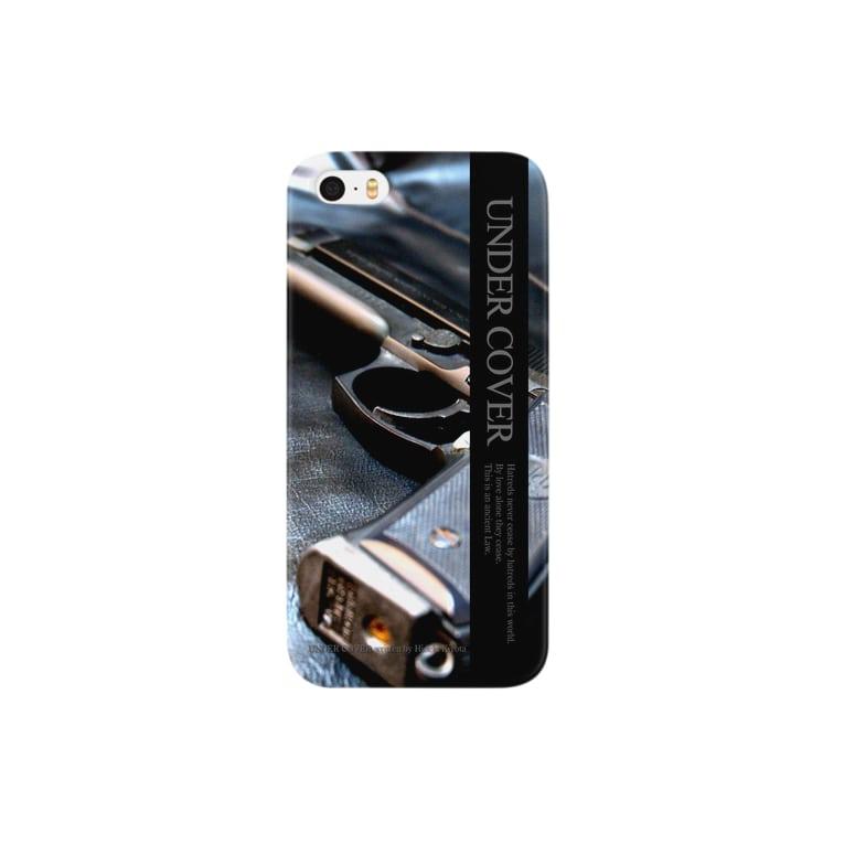 アンダーカバーのアンダーカバー「GUN」縦 Smartphone cases