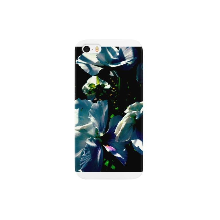 Kenssukeの白いハナ Smartphone cases