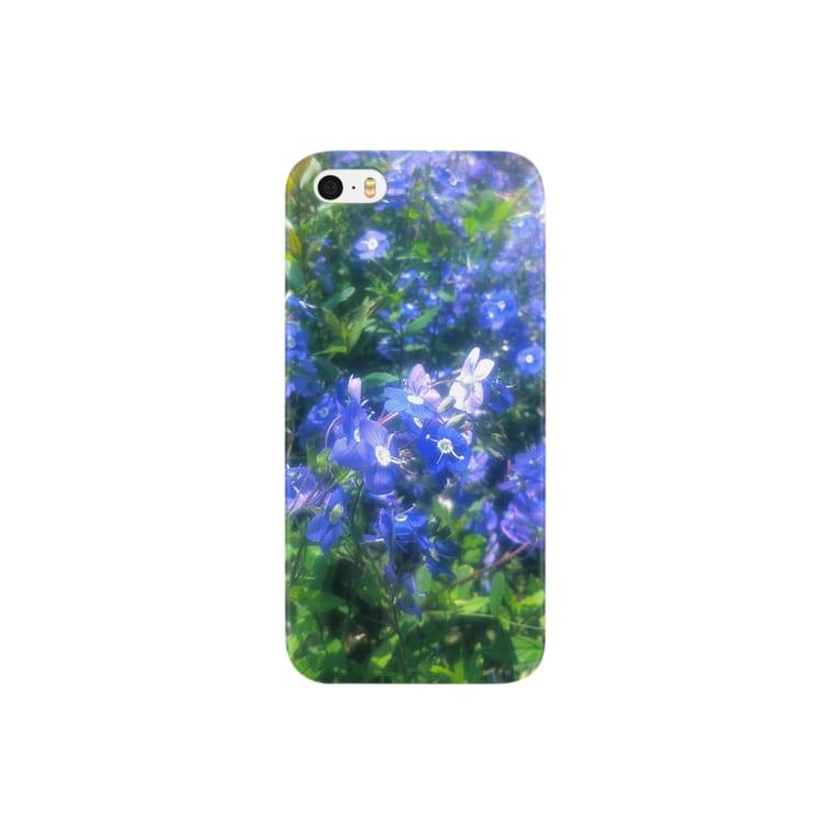 Kenssukeの青いハナ Smartphone cases