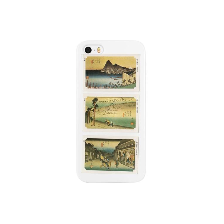 安永峰夫の広重-J Smartphone cases