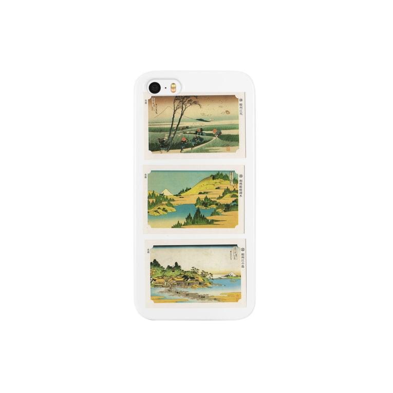 安永峰夫の北斎-I Smartphone cases