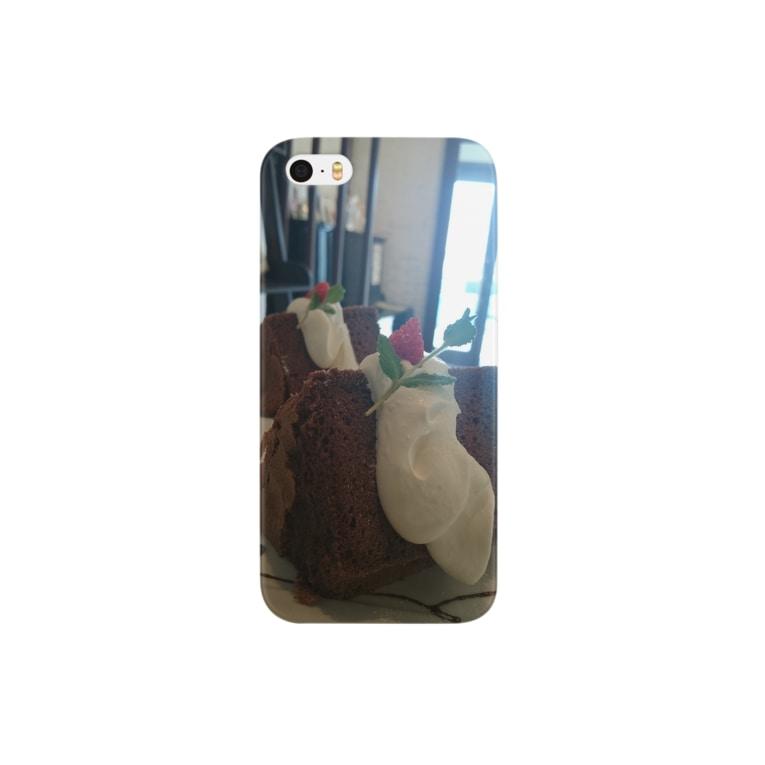 Kumiのchiffon cake Smartphone cases