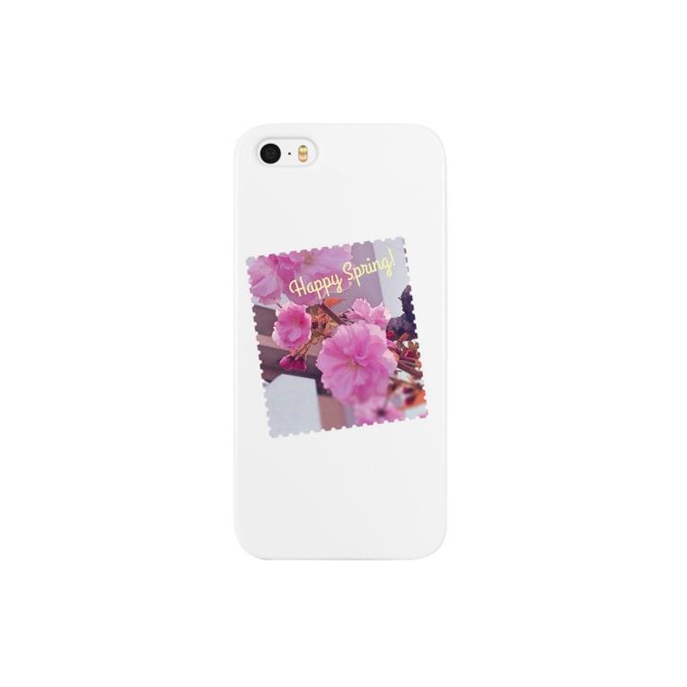村上明子のHappy Spring Smartphone cases