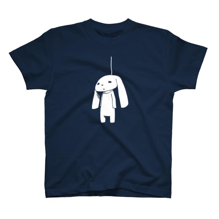miya_2のつりうさ T-shirts