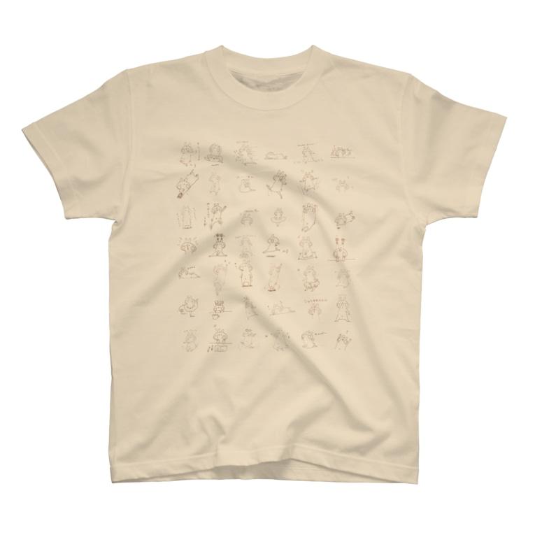 *momochy shop*の*うさぎだらけ* T-shirts