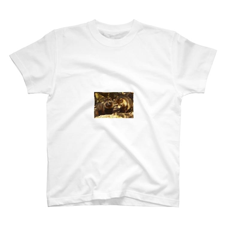 a565667aswのたぬちゃん T-shirts