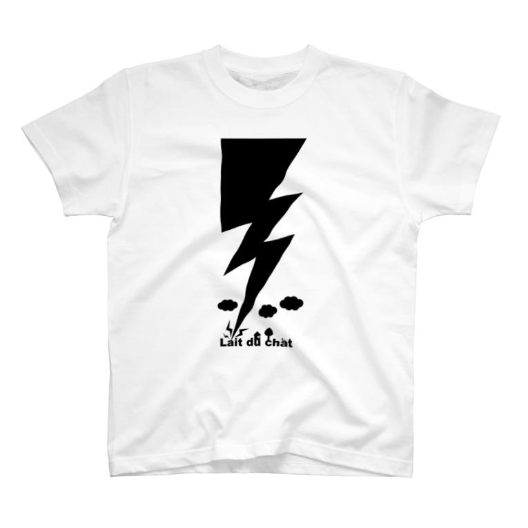 Cɐkeccooのイナズマ★落雷★ T-shirts