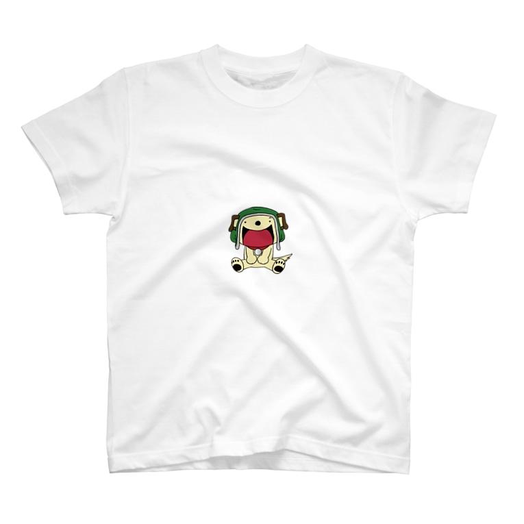 アセラ事務局のおすわりボッチ T-shirts