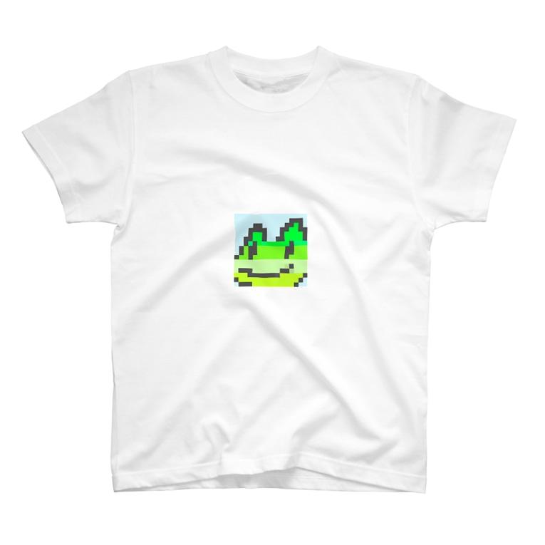 koki hashimotoのカエルくん(小さめ) T-shirts