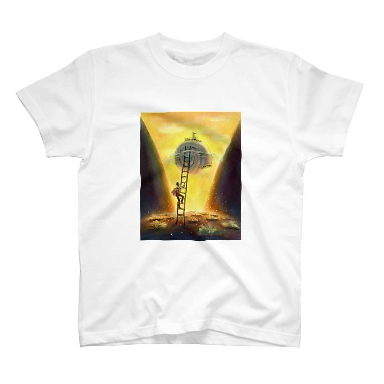 PPA Lab.の梯子の少年 T-shirts