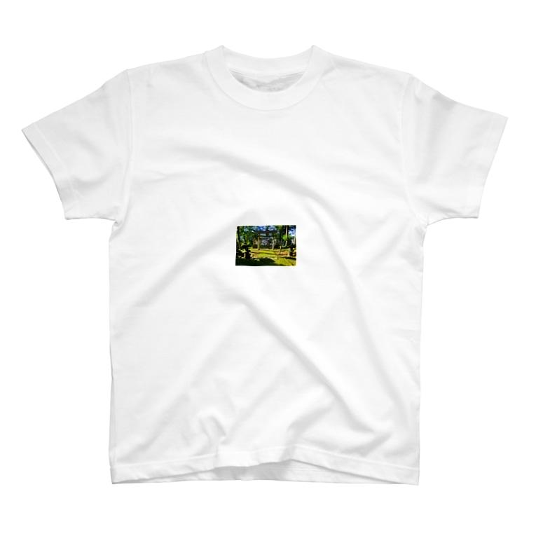 Sword ▲ Peaksの神社 T-shirts