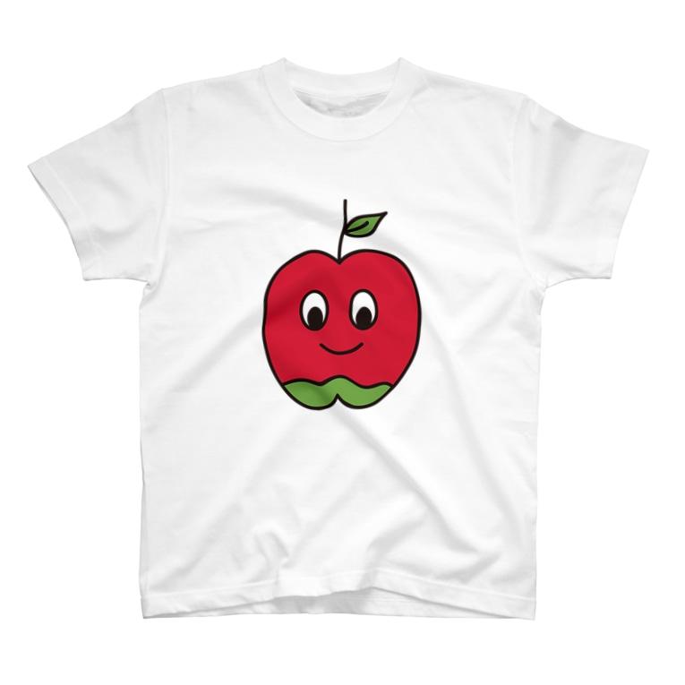 シャンティのお店のおりんごちゃん T-shirts