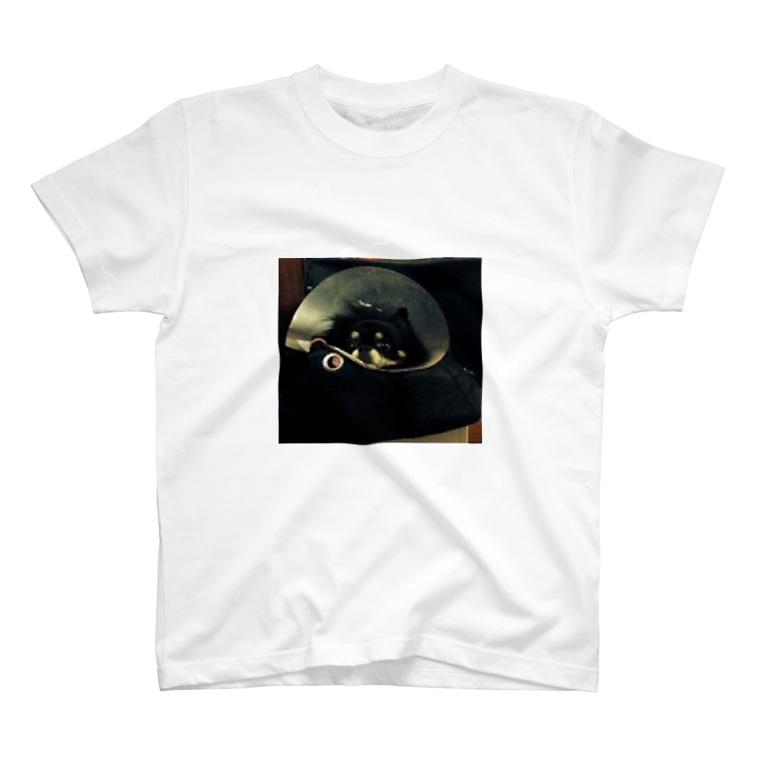 長塚の一SHOPのさん太郎の散歩行きたいやつ T-shirts
