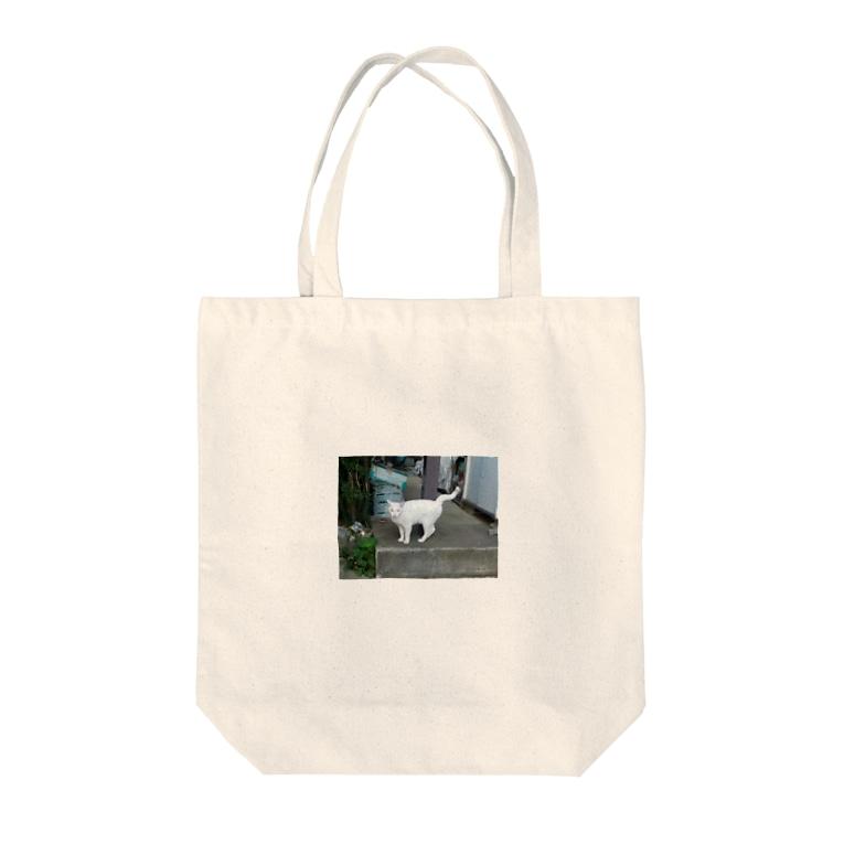 m_asa_oのちいちゃん Tote bags