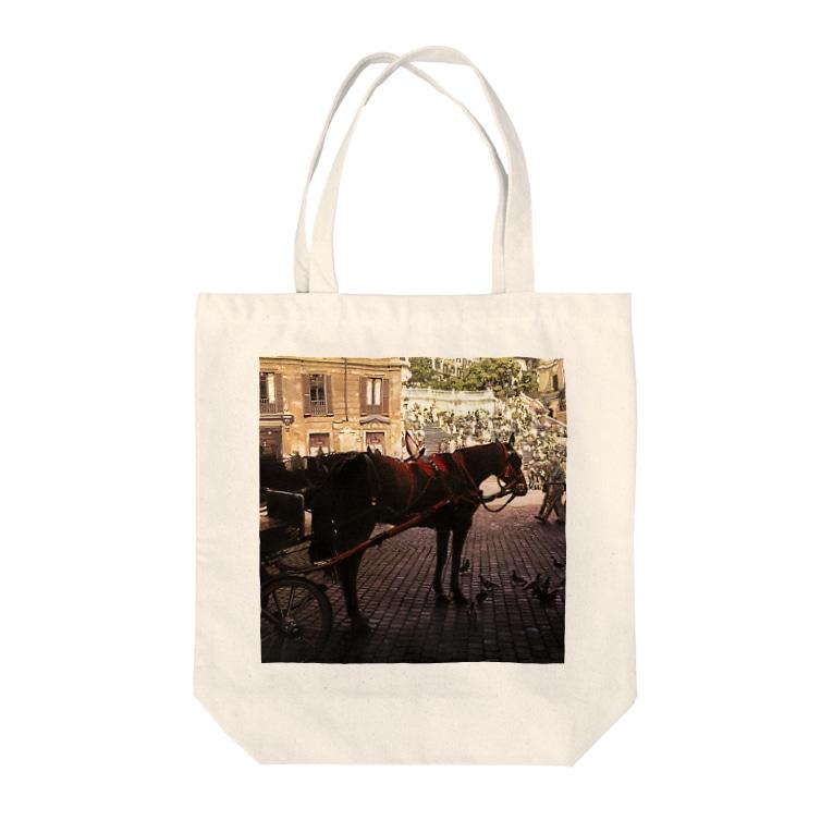 ravenalaの一秒のペガサス Tote bags