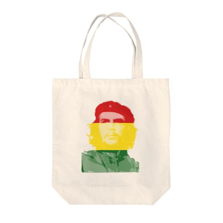 グラフィックデザイナー036のチェ・ゲバラ Tote bags