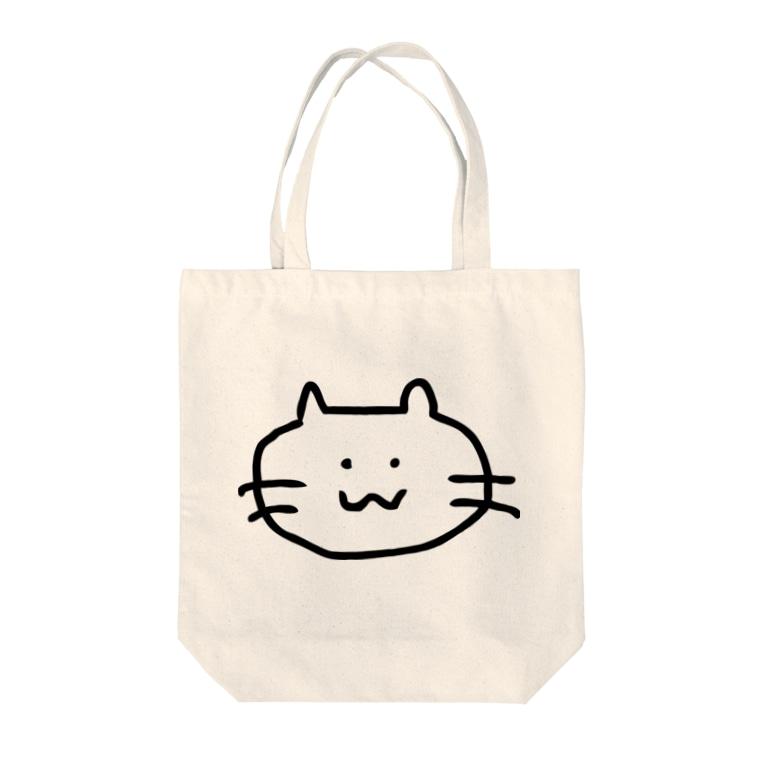 とってもかわいいショップのnyanko Tote bags