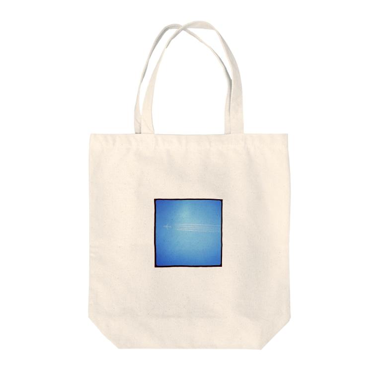kmtのflight Tote bags