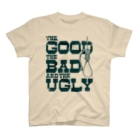 GubbishのThe Good, the Bad and the Ugly(淡色ボディ用) T-shirts