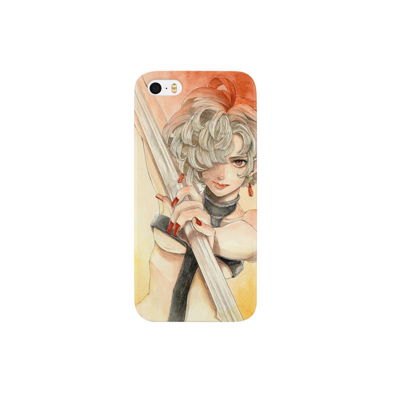 ぱらぞわすのGirl  Smartphone cases