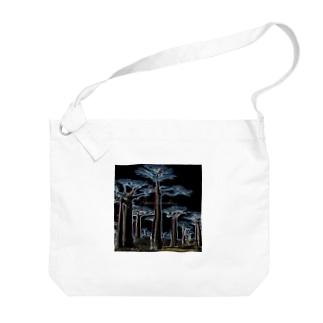 Night Baobab  Big shoulder bags