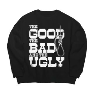 The Good, the Bad and the Ugly(暗い色用) Big silhouette sweats